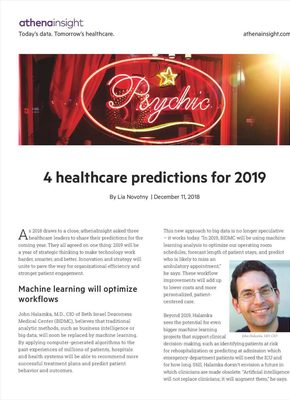 4-healthcare-predictions-for-2019