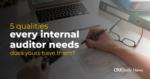 5 Internal Auditor Traits