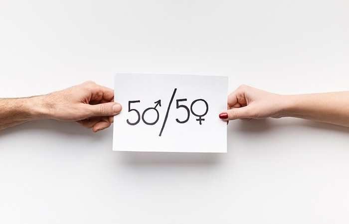 50-50