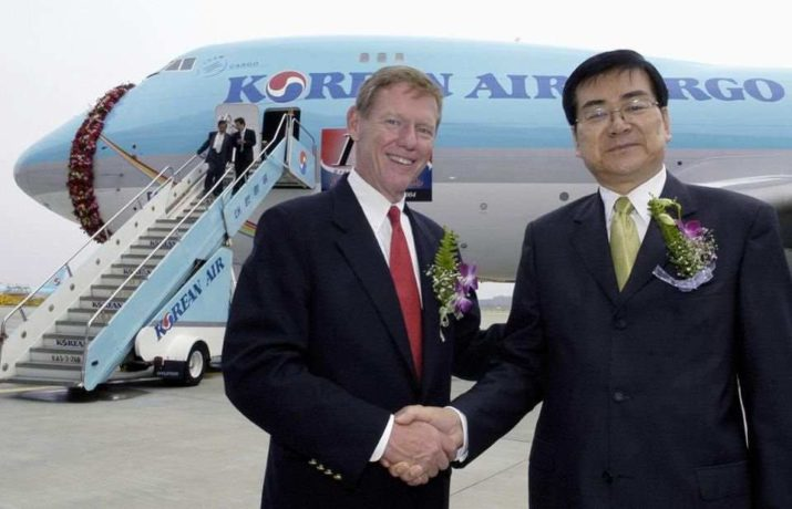 Alan mulally and cho yang ho