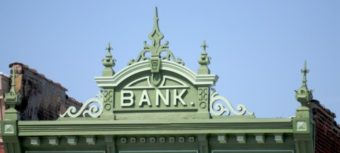 Bank building crest