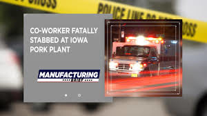 Co worker fatally stabbed