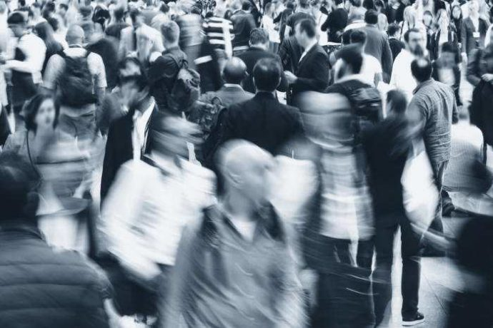 Crowd-blur