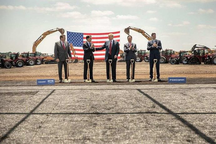 Donald-trump-foxconn-groundbreaking-2018-06-28
