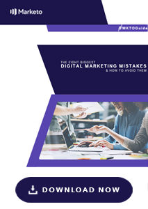 Eight digital marketing mistakes