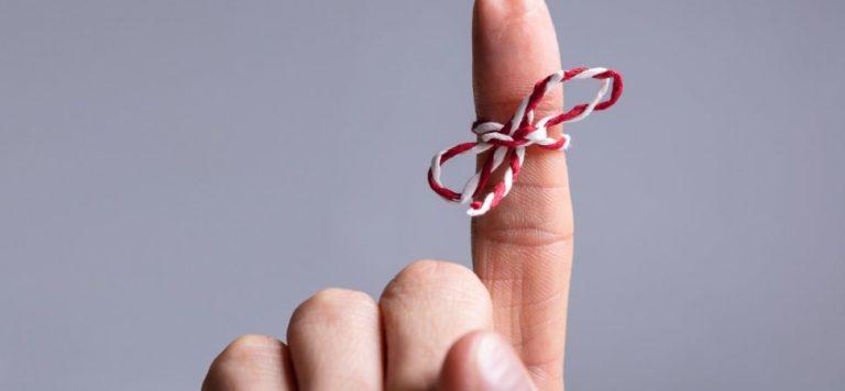 Finger reminder