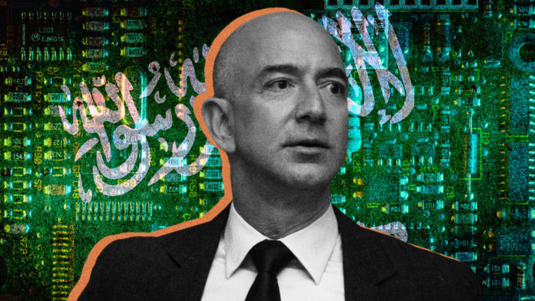Jeff bezos hacked by saudi arabia