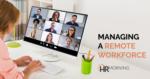 Managing A Remote Workforce