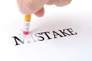 Mistake-erasing