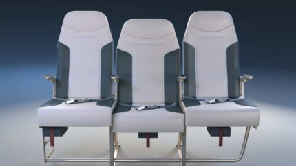 New Middle Seat Design