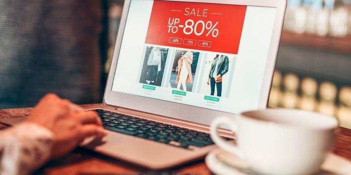 Online retail market