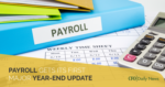 Payroll Year-End Update