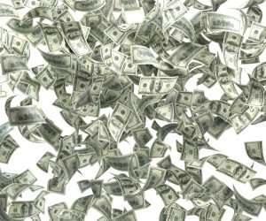 Raining-money