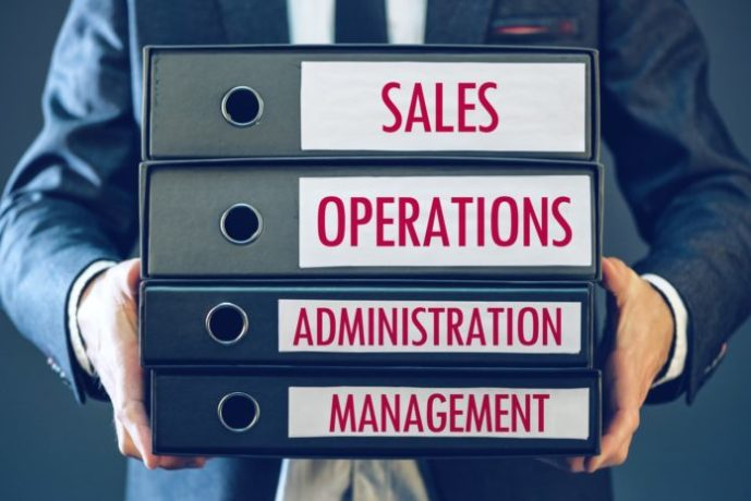 Sales operations administration management