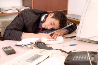 Sleeping-at-work
