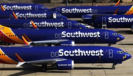 Southwest Airlines Boeing 737 MAX Aircraft
