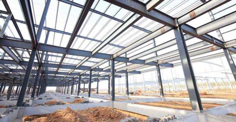 Steel-frame-structure