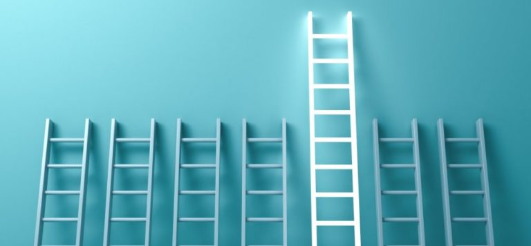 The coporate ladder