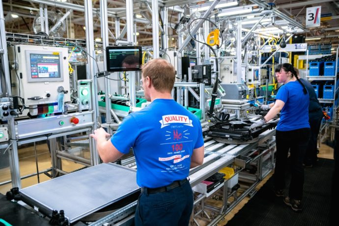 The denso auto parts plant