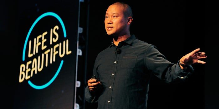 Tony hsieh live is beautiful