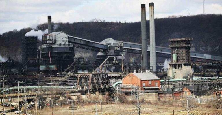 Us steel plant pennsylvania