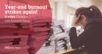 Year-End Burnout