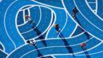Black HR Leaders Walking A Labyrinth
