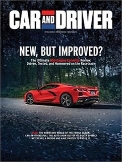 Car and driver dec 19