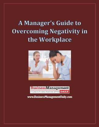 A Manager's Guide to Overcoming Negativity in the Workplace