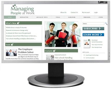 Managing People At Work Website