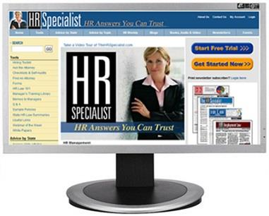 The HR Specialist Website