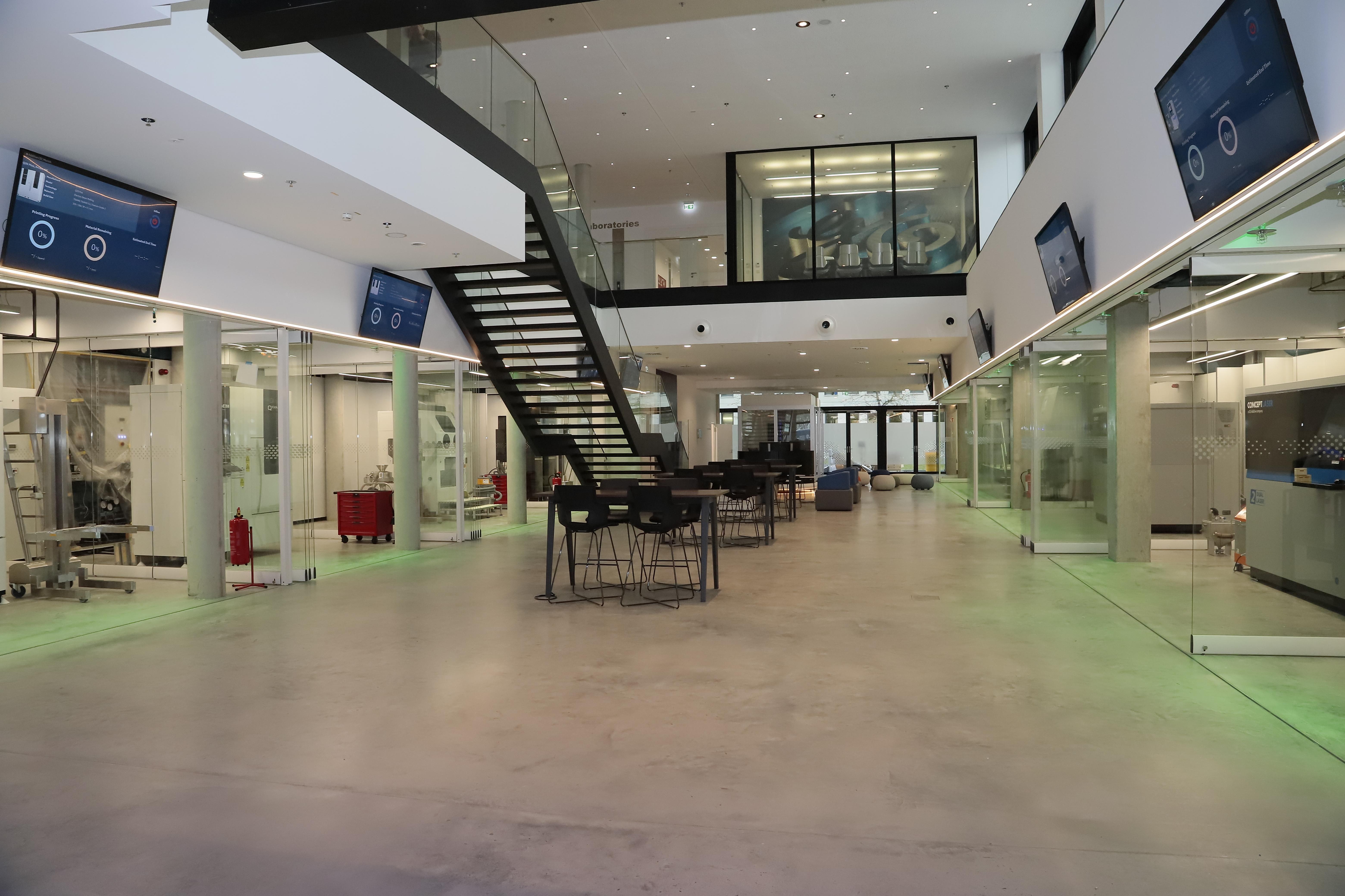 New GE Center