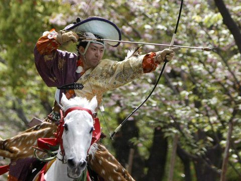 Japan-samurai-archer