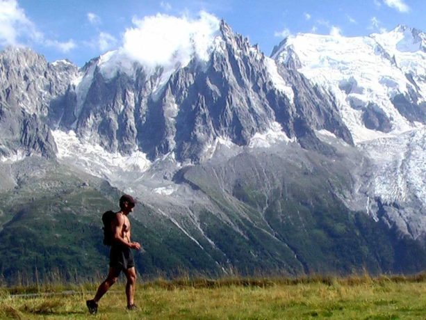 Man hiking mountains 3