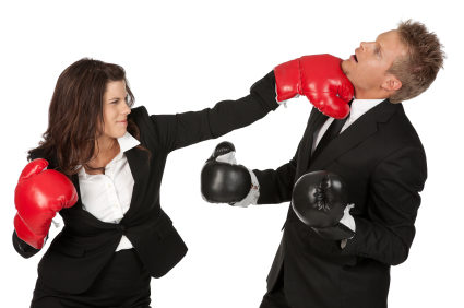 Fighting in office 4